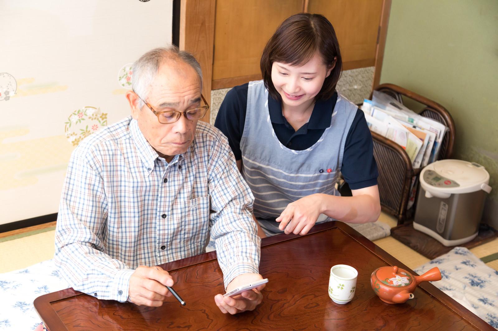 在宅介護サービスの種類について